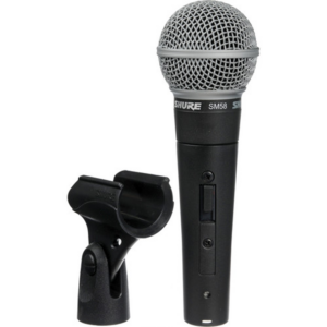Shure SM58S Vocal Mic with On:Off Switch