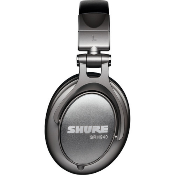 Shure SRH940 Professional Headphones Left Side