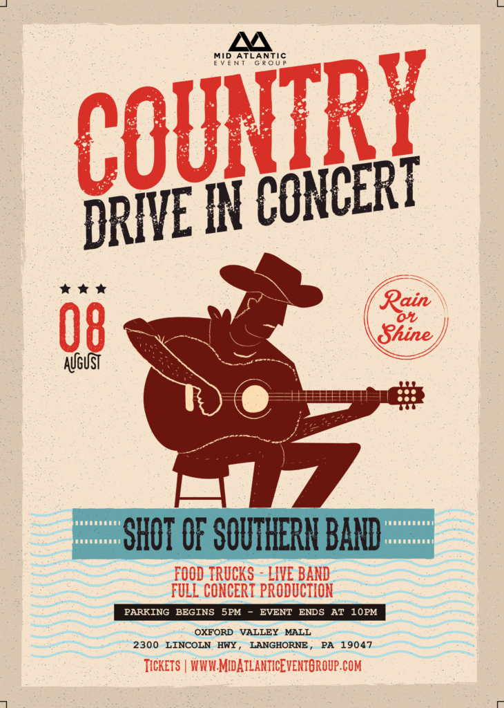 Country Festival Drive In Concert