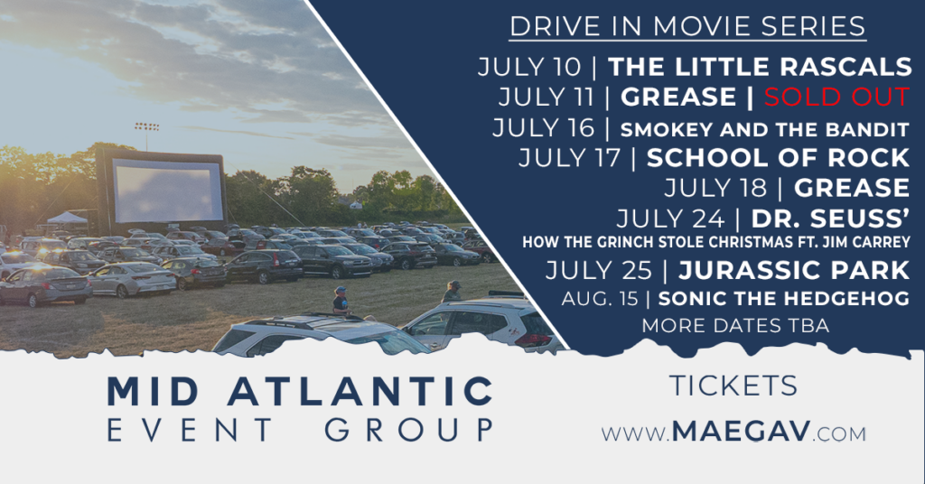 Drive In Movie Mid Atlantic Event Group