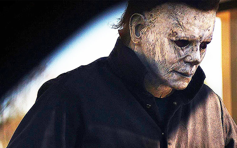 Michael Myers halloween Flyer 2018 Drive In Movie