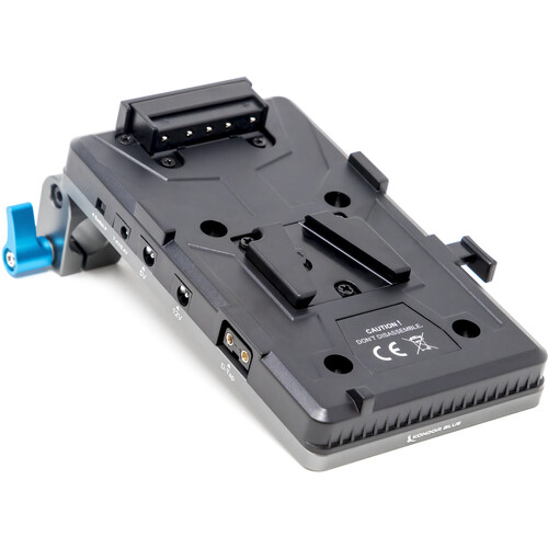 Kondor Blue Cine Battery Plate with 15mm Rod Clamp