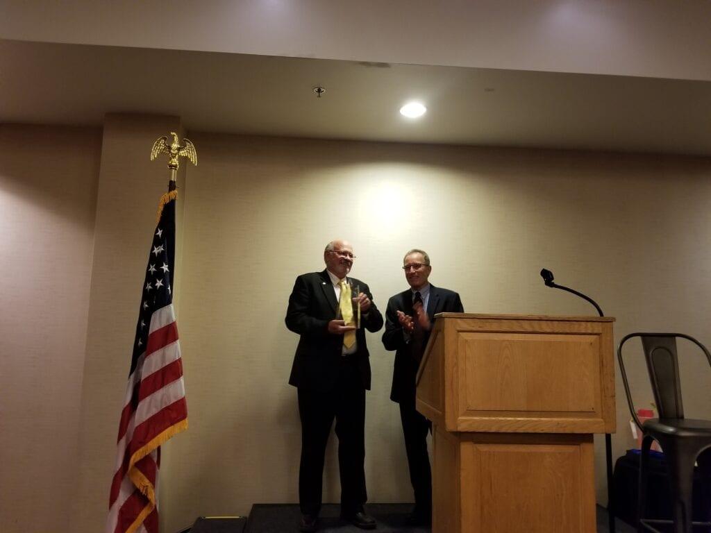 Congratulations Executive Vice President Bill Hopkins in his retirement.