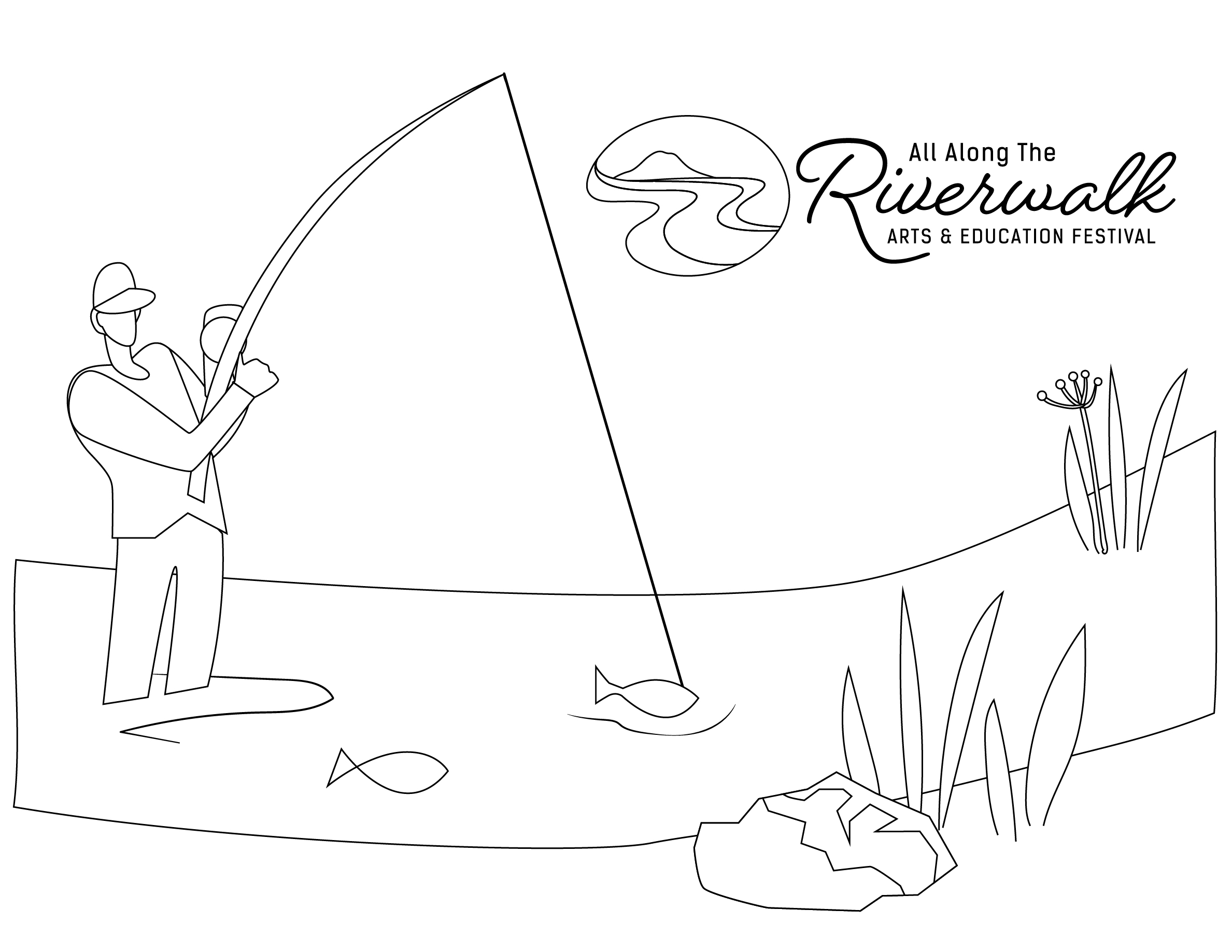 Fishing Rod Colouring Pages Coloring Printable Fish Astonishing One Two  Free Colori Bowl Template Excellent Engaging Page Prin Best Enchanting  Appealing Books F Ocean Marvellous Of   octas   1837x2377