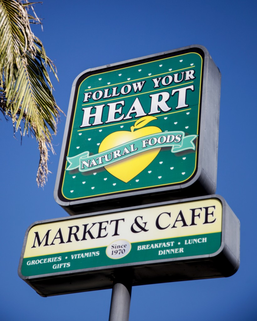 Follow Your Heart is located on Sherman Way in Canoga Park, Calif. It opened in 1970 and meat has never been on the menu. Oct. 14, 2013. Photo: Lynn Levitt.