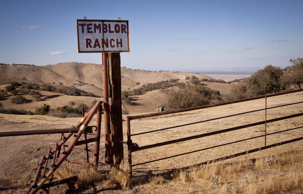The Temblor Range  on Interstate 58 just before reaching the Carrizo Plain. Photo: Lisa Richardson