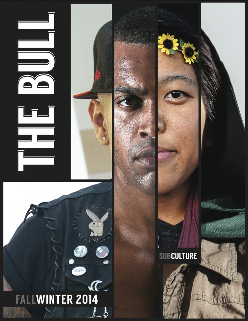 Front cover for the Fall 2014 issue: Subculture