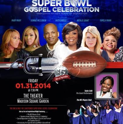 Super Bowl Gospel Celebration Promotion