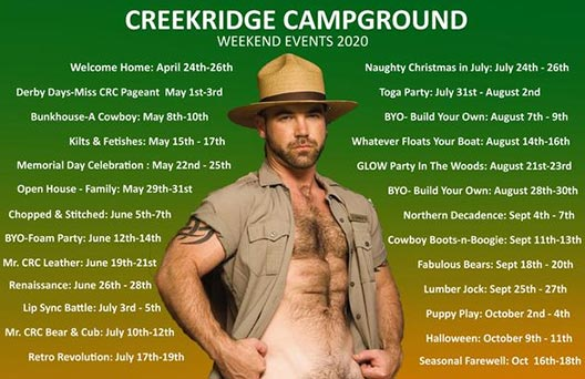 CreekRidge Campground (CRC)