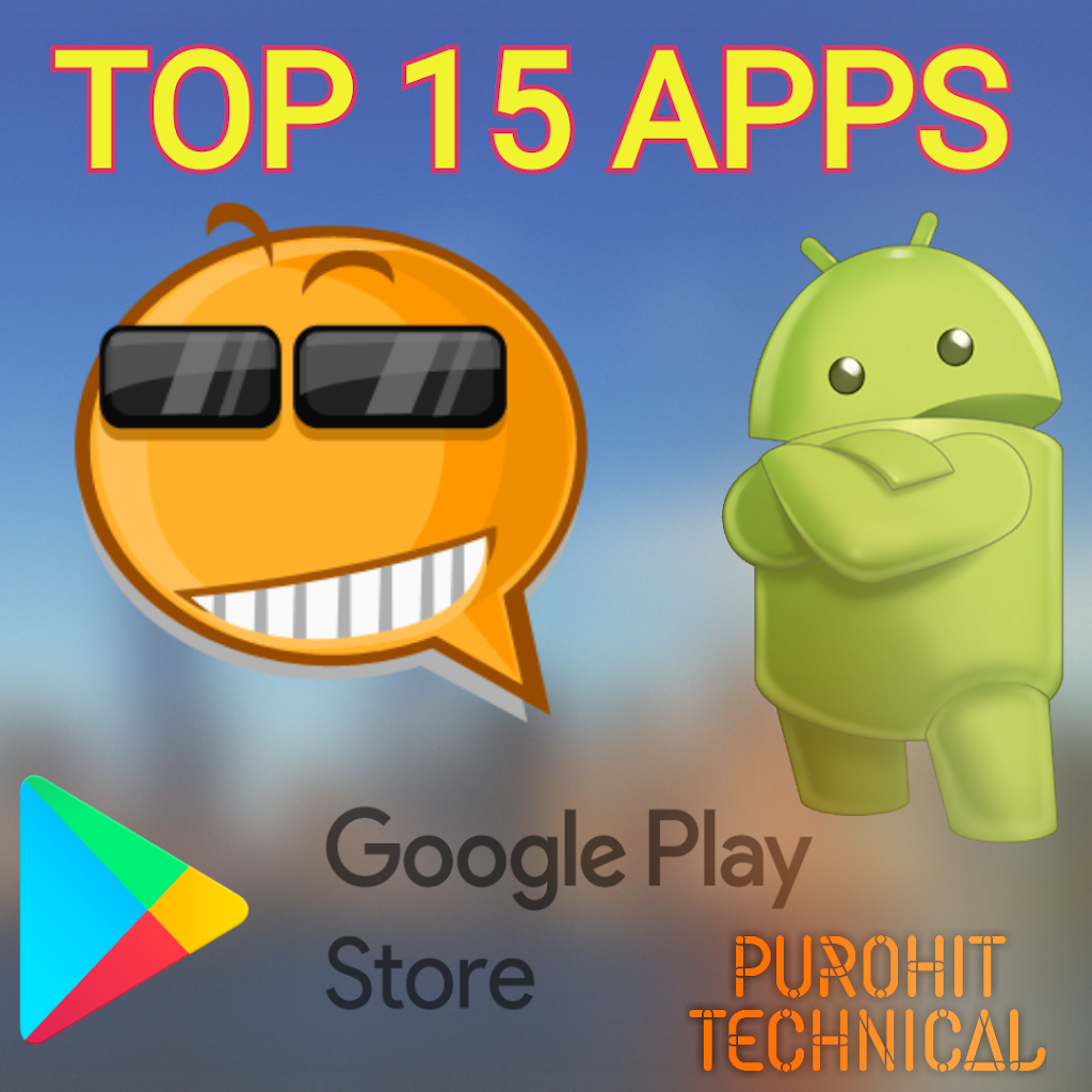 15 Most Useful Apps For Android – In Hindi