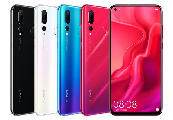 Huawei Nova 4 with 25MP In-display Front Camera & 48MP Triple Rear Cameras Launched