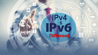 What Is IP Address ? Difference Between IPv4 Vs IPv6 – In Hindi