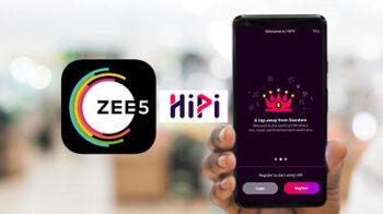 Zee5 ने की Video Making App HiPi Launch करने की घोषणा, Chingari App को दे सकती है टक्कर