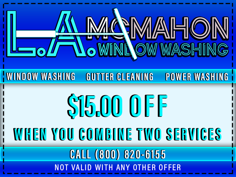Window Washing & Gutter Cleaning Coupon