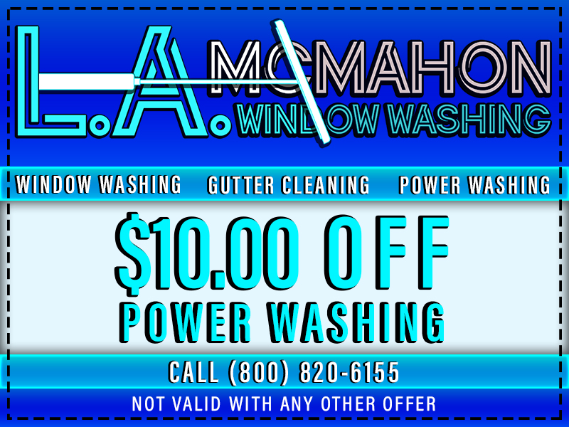 Power Washing Coupon