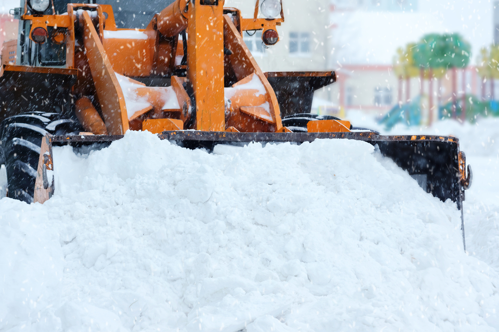 Greentech's commercial snow plowing and removal services keep you, your employees, and your customers safe in the winter.
