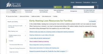 Early hearing loss detection
