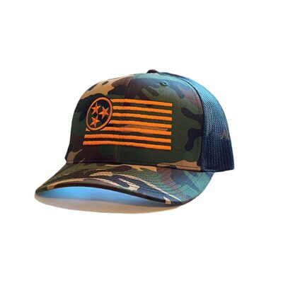 Camo Trucker Hat - TriStar Hats Co