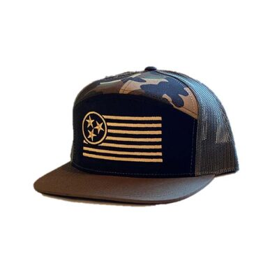 Hunter 7 Panel Trucker Hat - TriStar Hats Co