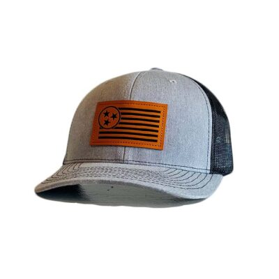 Leather Trucker Patch Hat - TriStar Hats Co