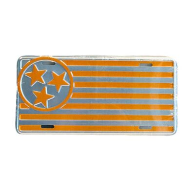 Orange License Plate - TriStar Hats Co