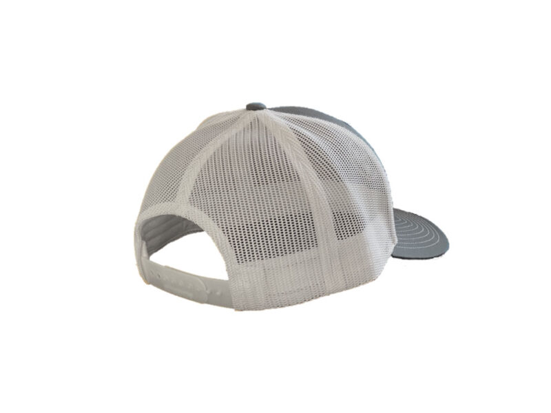 White Mesh Back Trucker - TriStar Hats Co