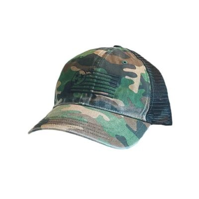Camo Unstructured Hat - TriStar Hats Co.