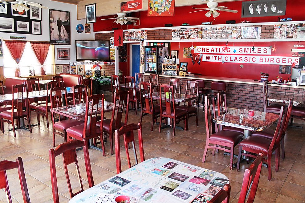 American Burger restaurant interior