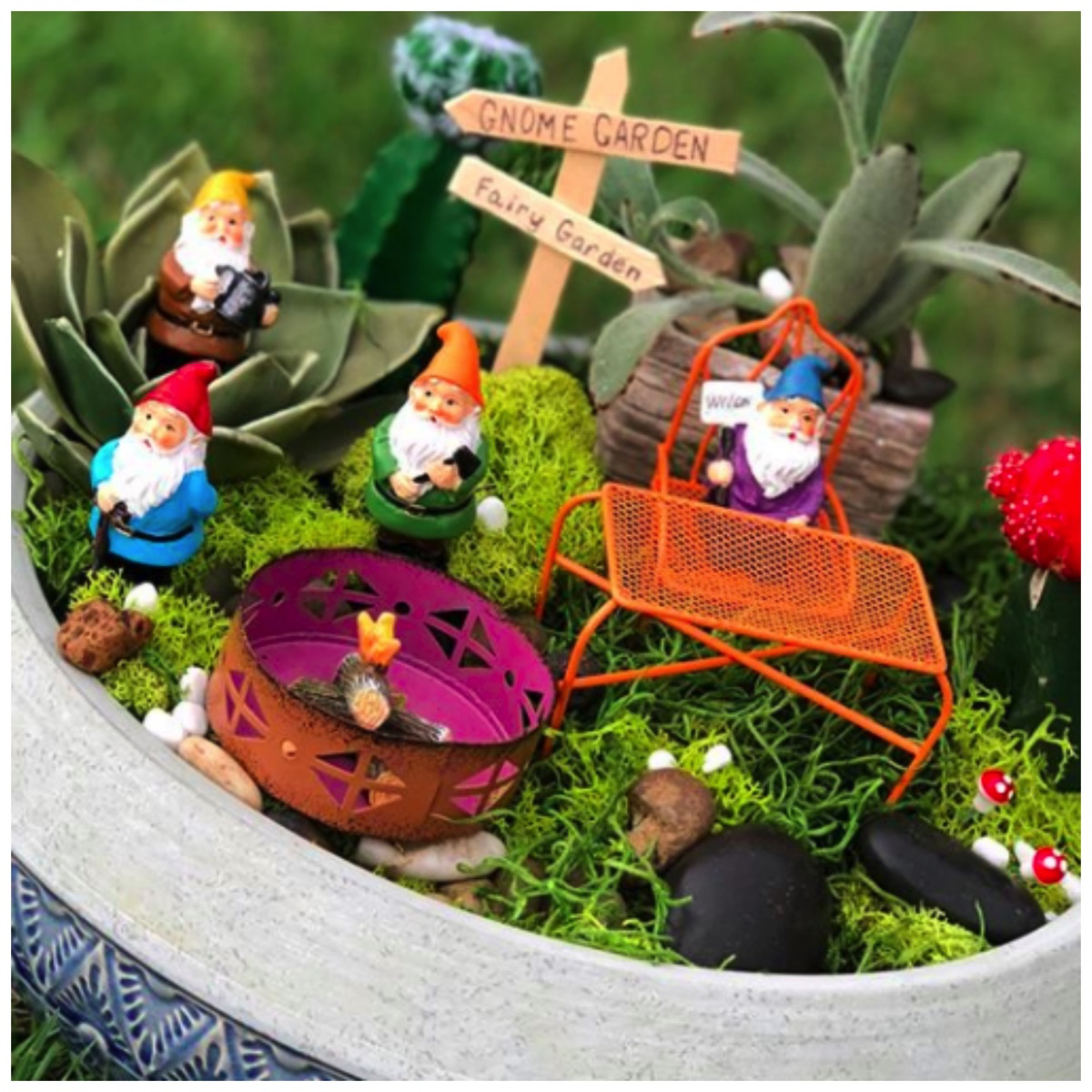 Garden Tips: Colorful and Whimsical Gnome Garden Inspiration for Your Home Yard