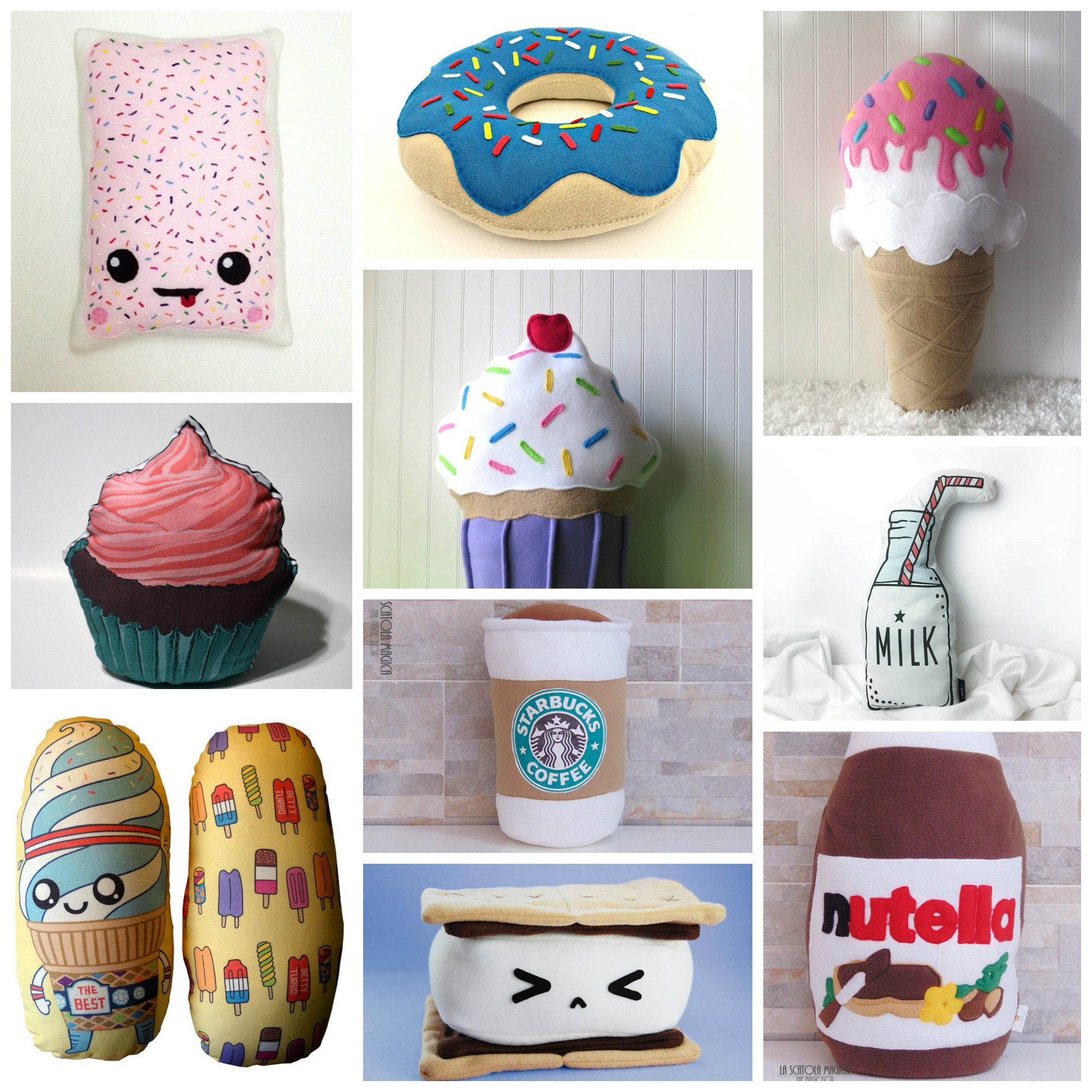 Top 10: Cutest Dessert Pillows for Your Home Couch or Kids Room