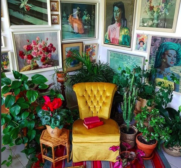 Home Tour: The mesmerizing boho vintage home of Lee (Whatever Happened To Miss Wolf)