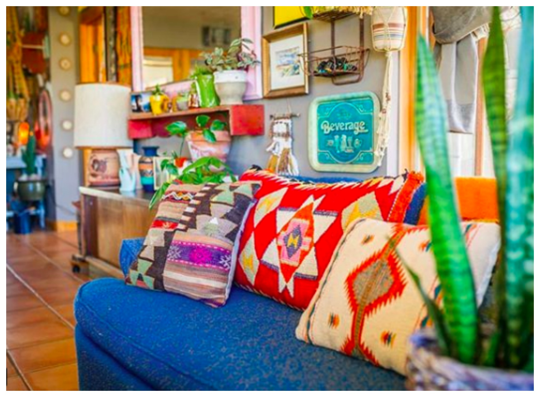 Home Tour:  Colorful Colorado Boho Mountainside Digs of Chasity and Derek