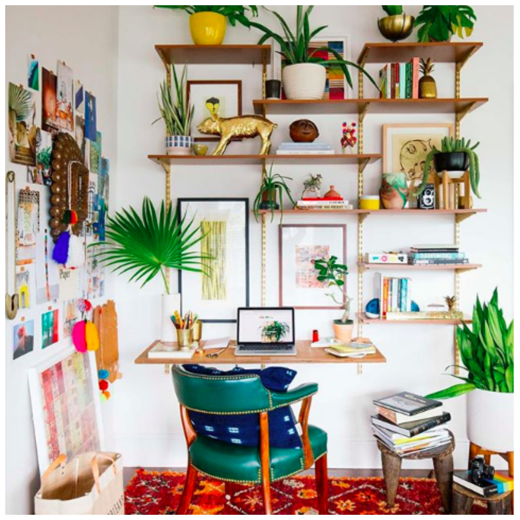 Home Tour: Dabito's Eclectic Ebay Gathered Colorful Cozy Home's