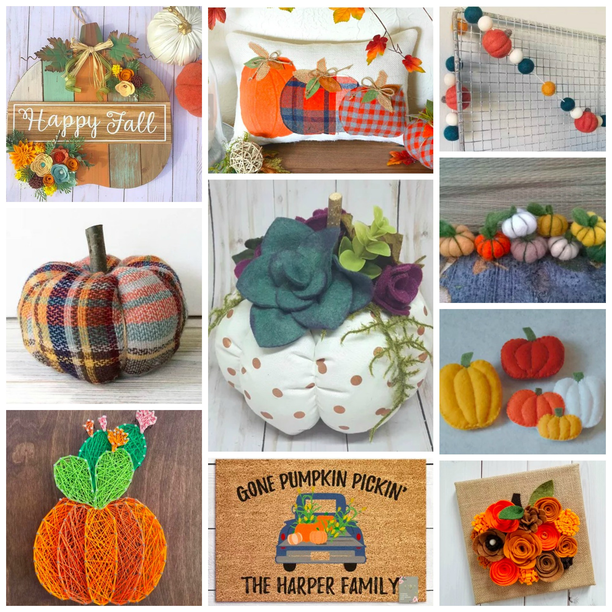 Top 10: Colorful and Unique Autumn Pumpkin Decor For Your Home This Season