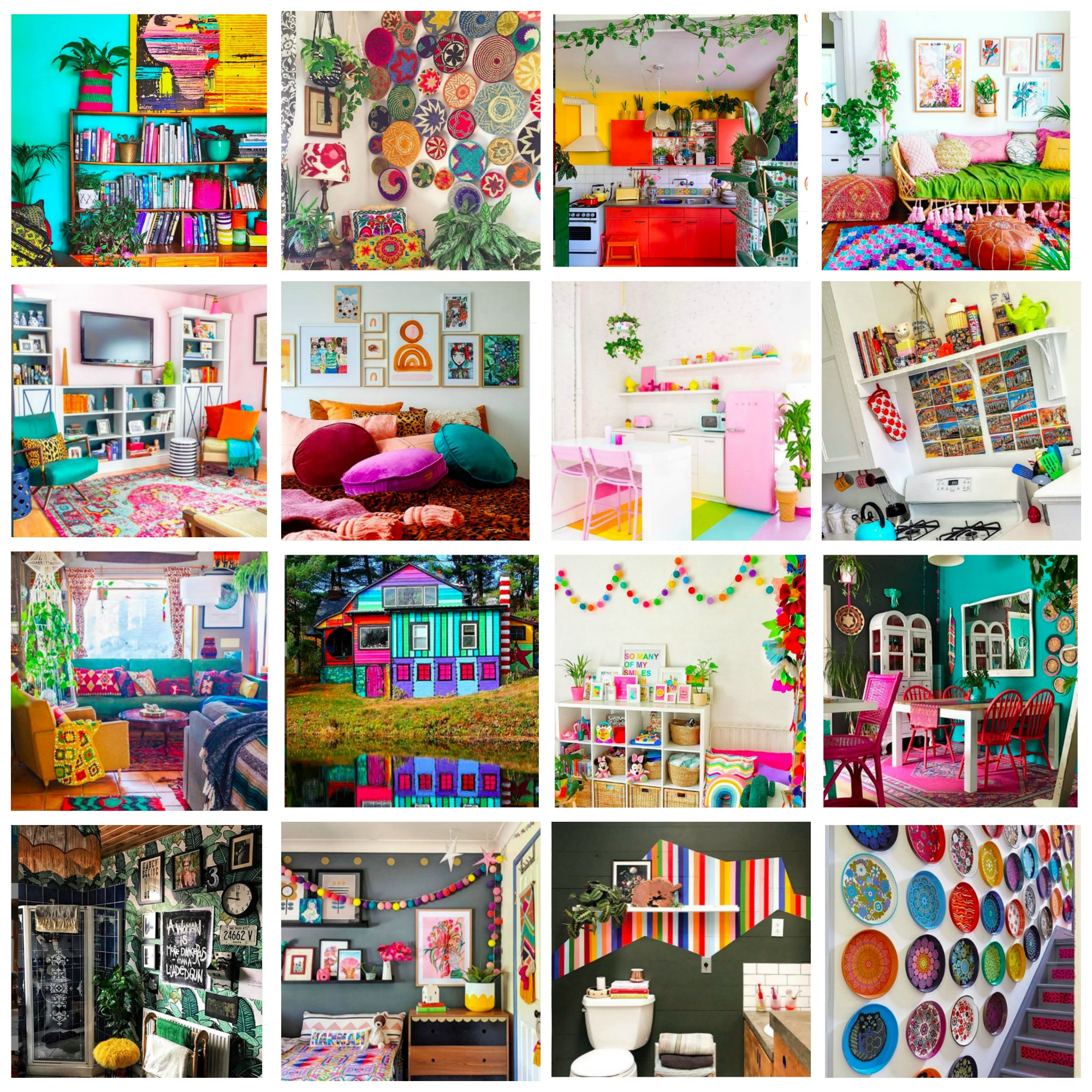Top 20 Most Colorful, Bold and Eclectic Home Decor Instagram Accounts You Should Be Following For Daily Inspiration