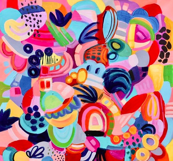 Artist Interview: Color, Brought To Life In The Vibrant Paintings of Jessica Hitchcock