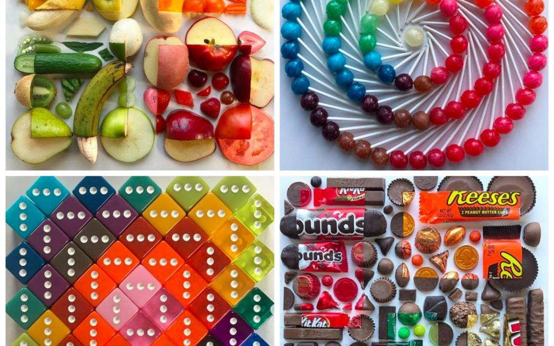 Everyday Objects Turned Into Hypnotic Rainbow Art, Interview with Artist Adam Hillman