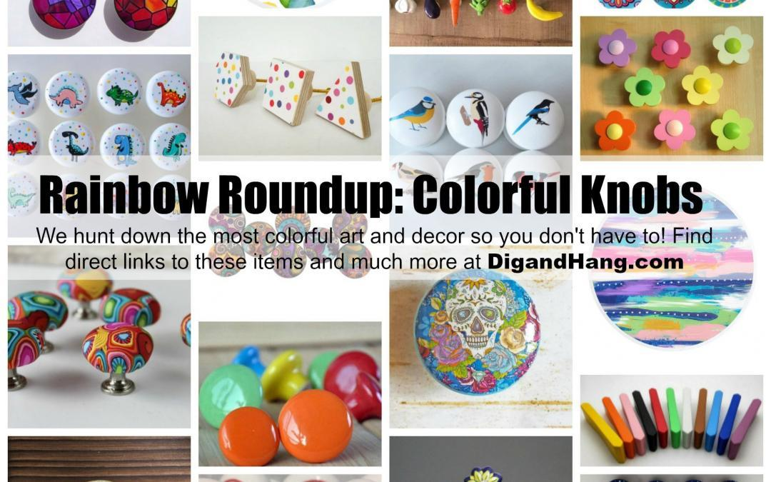 The Most Colorful, Bold and Unique Knobs for Your Dressers, Cabinets and Drawers