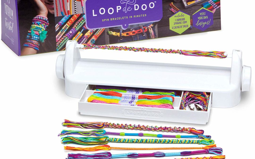 LoopDeDoo Colorful Friendship Bracelet Making Machine Tutorial