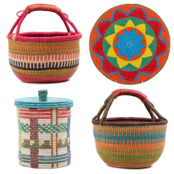 Baskets of africa fair trade baskets