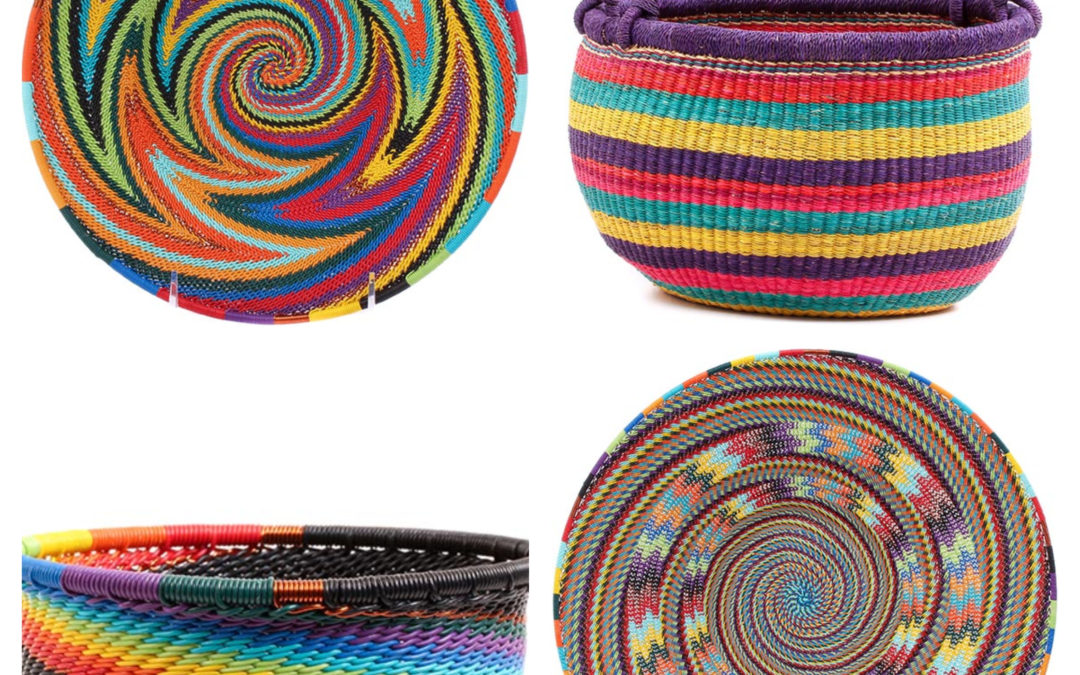 The Breathtaking, Colorful and Bold Baskets of Africa
