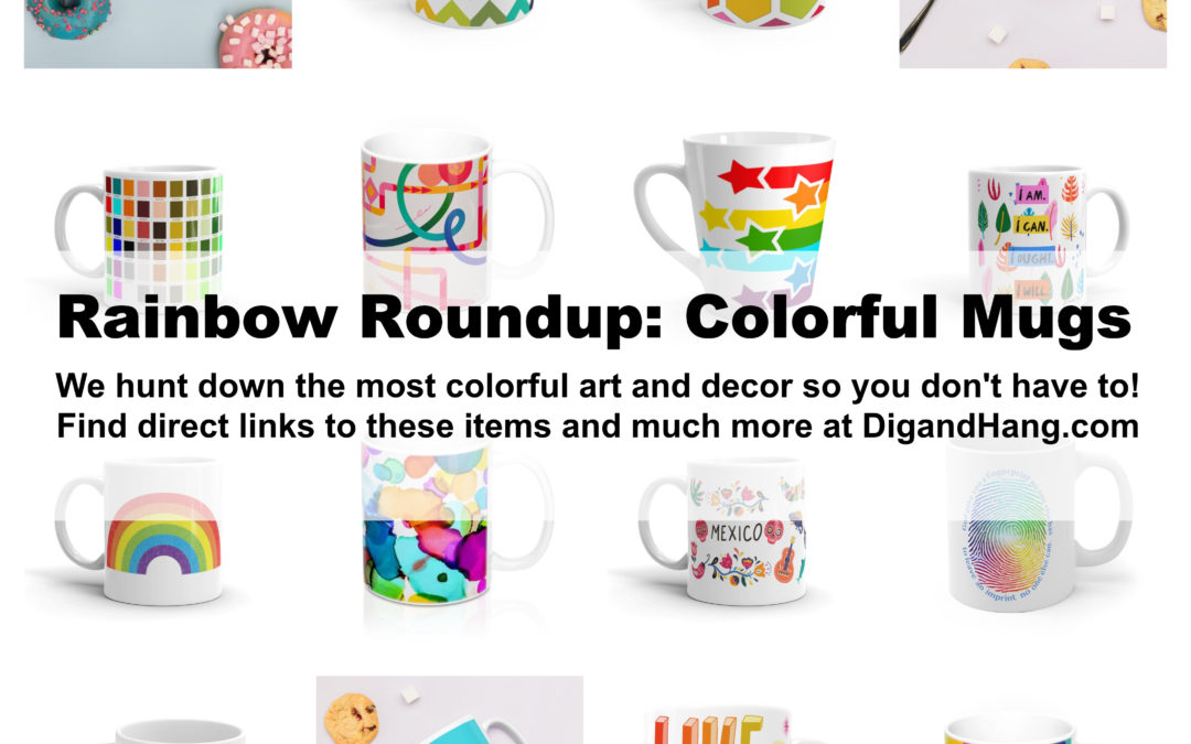 The Most Colorful and Unique Coffee and Tea Mugs
