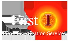 FirstI logo white