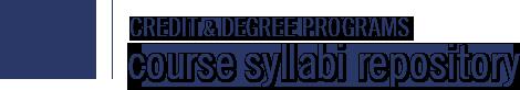 Spartanburg Community College Syllabus Repository