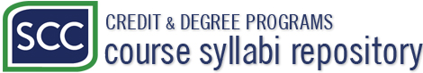 SCC Course Syllabi Repository