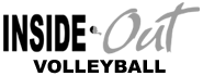 Inside Out Volleyball Logo
