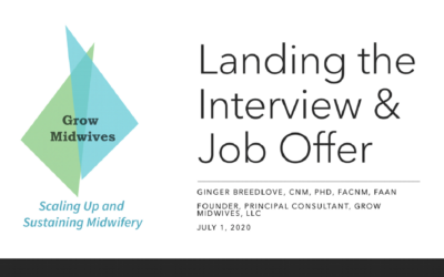 Landing the Interview & Job Offer Seminar
