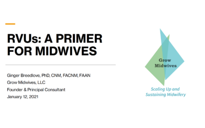 RVUs a Primer for Midwives