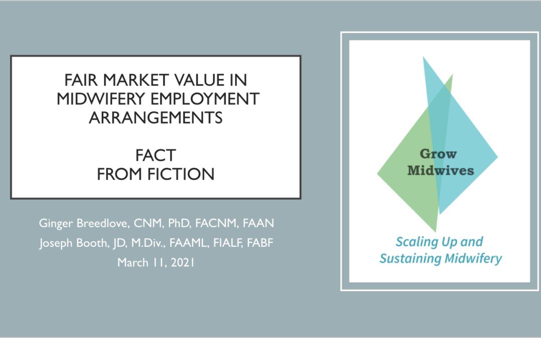 Fair Market Value in Midwifery Employment Arrangements