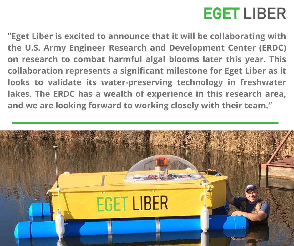 EGET LIBER and U.S. Army Engineer Research and Development Center (ERDC)